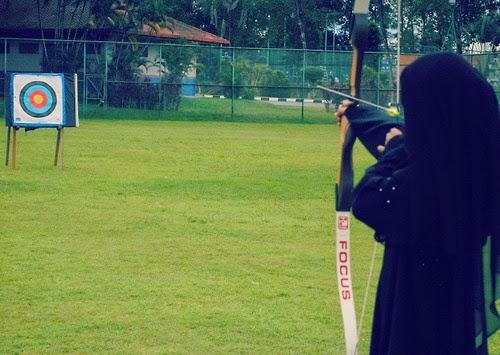 memanah untuk muslimah Picture Box