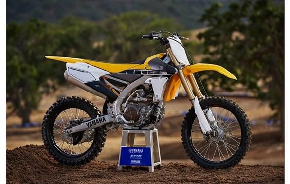 2016 Yamaha YZ450F - 60th Anniversary Yellow Pete's Cycle Company, Inc. BEL AIR