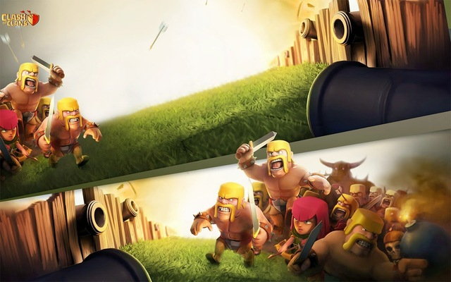 Clash-of-Clans-HD-Wallpaper Clash Of Clans Free Gems