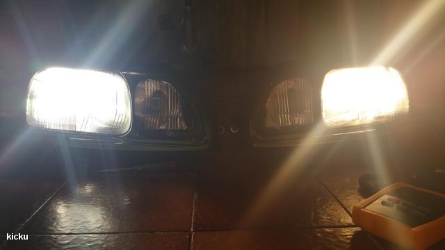 20151113 232454 LED vs. Halogen H7
