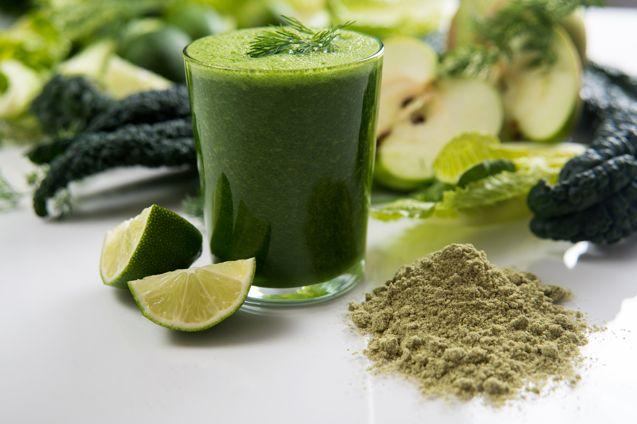 Spirulina klamath Blue Green Algae