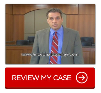 accident injury lawyer McDonald Worley Attorneys at Law