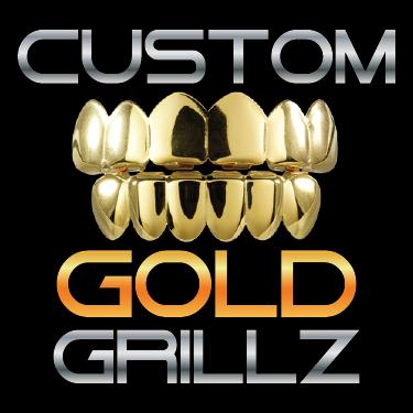 Custom Gold Grillz Picture Box