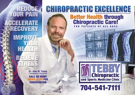 Chiropractor Charlotte NC Tebby Chiropractic and Sports Medicine Clinic