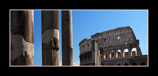 Roman Colosseum 06v2 Panorama Images