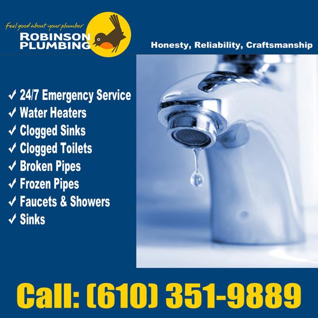 Allentown plumbing contractors Robinson Plumbing