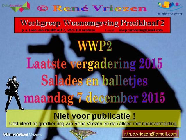 R,Th,B,Vriezen 20151207 0000 WWP2 EindeJaarsVergadering met Salades maandag 7 december 2015