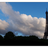 Tour Eiffel Clouds - France