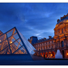 Louvre Night Light - France