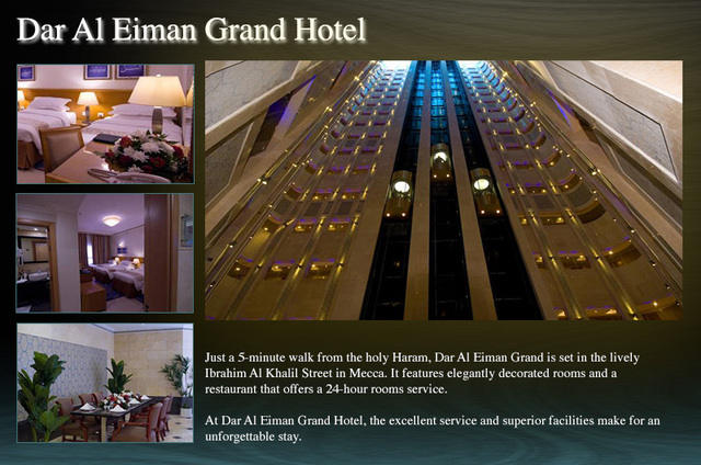 Dar-Al-Eiman-Grand-Hotel Makkah The Holy place
