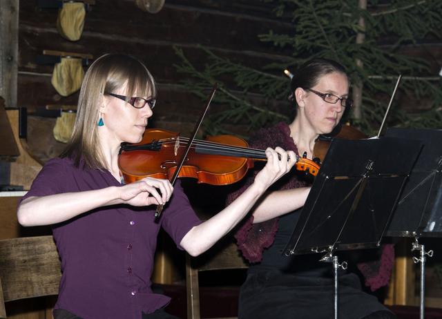 violisten Kerstviering Jyväskylä 2015