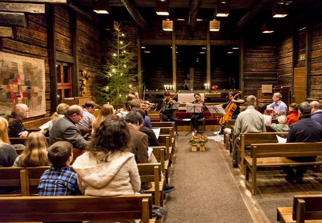 riihikirkko Kerstviering Jyväskylä 2015