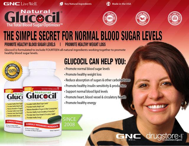 Glucocil A Blood Sugar Optimizer Picture Box