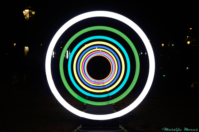 ringen-BorderMaker Amsterdam Light Festival '15