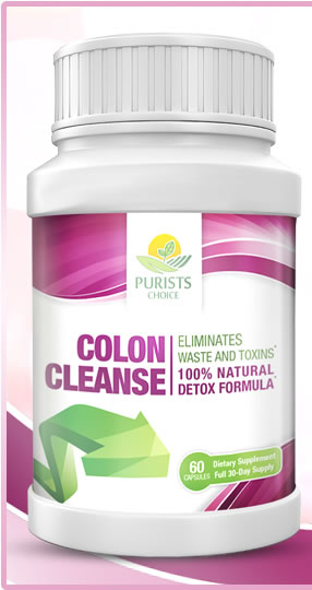 Purists Choice Colon Cleanse Picture Box