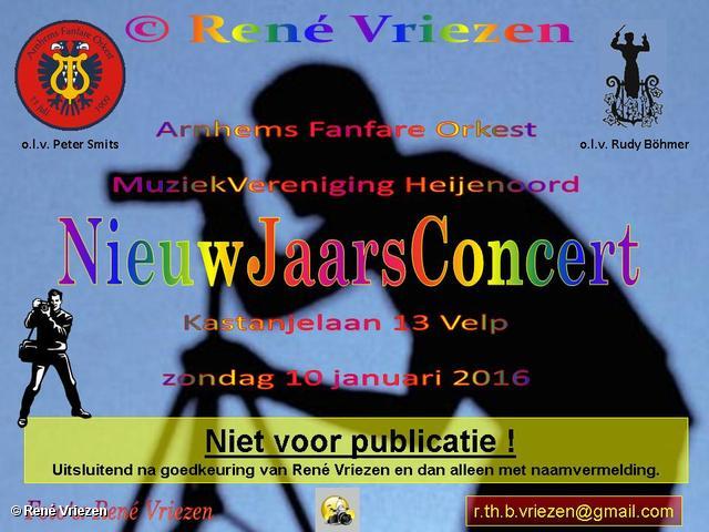 R,Th,B,Vriezen 20160110 0000-1 Arnhems Fanfare Orkest-Mzv Heijenoord NieuwJaarsConcert K13 Velp zondag 10 januari 2016