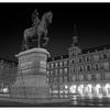 Plaza Mayor B&W - Spain