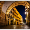 Salamanca Plaza Mayor Arch - Spain