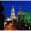 Santiago de Compostela night - Spain