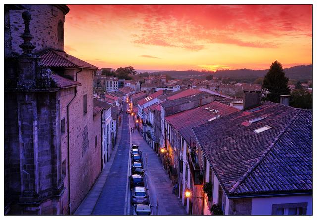 Santiago de Compostela Sunset 1 Spain
