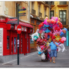 Balloons in Pamplona - Spain