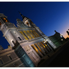 Catedral de la Almudena night - Spain