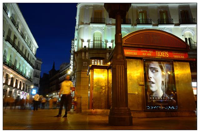 Puerta del Sol Night Spain