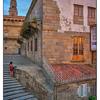 Santiago de Compostela Steps - Spain