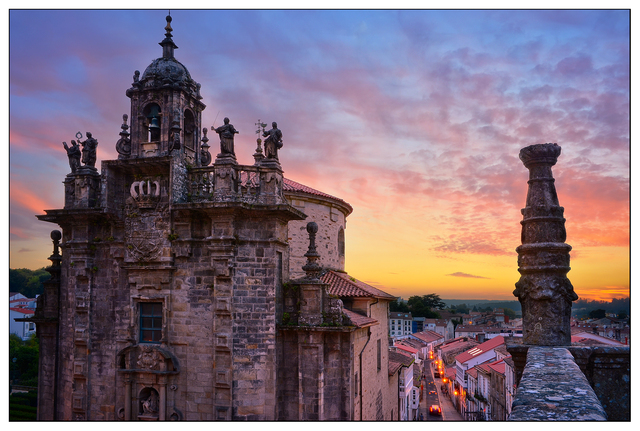 Santiago de Compostela Sunset 2 Spain
