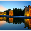 Templo de Debod night - Spain