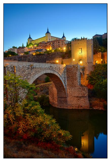 Toledo Night Spain