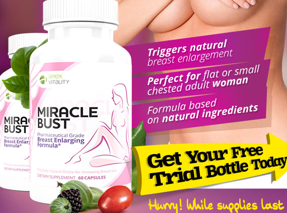 Miracle Bust Natural Breast Enhancement Picture Box