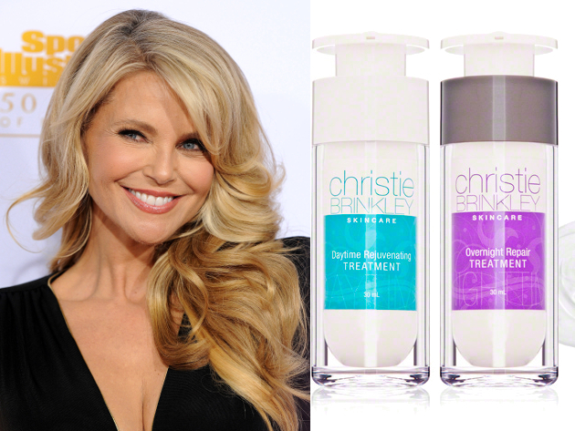 Christie Brinkley Skin Care Doesn't Have To Be Har Picture Box