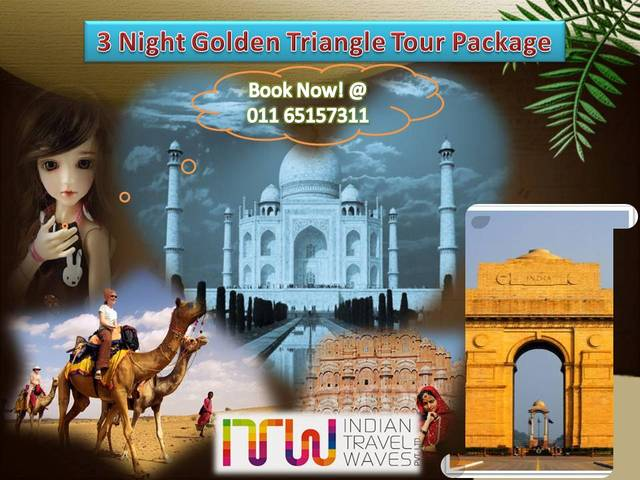 3Night Golden Triangle Tour Package Travel in India