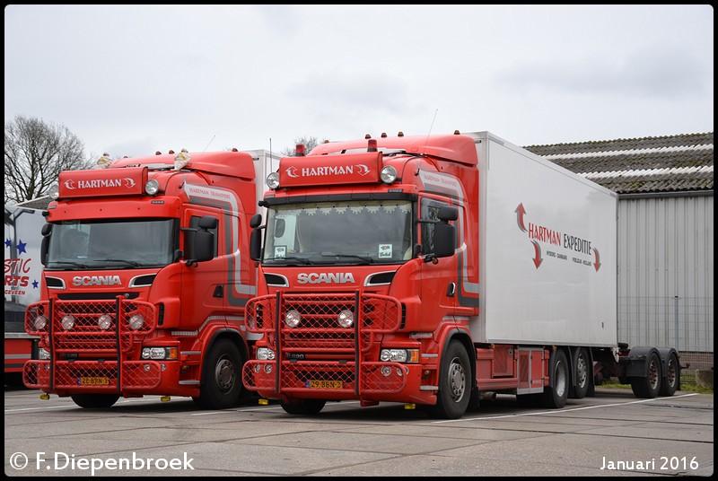 Hartman Scania V8-BorderMaker - 2016