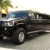 Black H2 Hummer Limo - Picture Box