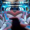 pink-hummer-limo interior - All Pink limo