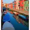 Burano Color Reflections - Venice & Burano
