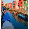 Burano Color Reflections - Venice & Burano