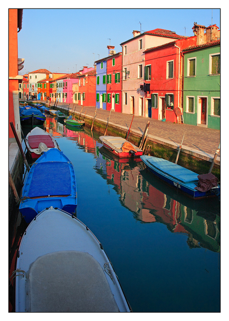 Burano Color Reflections Venice & Burano