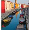 Burano Canal Colours - Venice & Burano