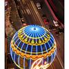 Paris Vegas below - Las Vegas