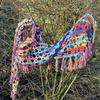 DSC 0137 - Mijn zelf gemaakte sjaals