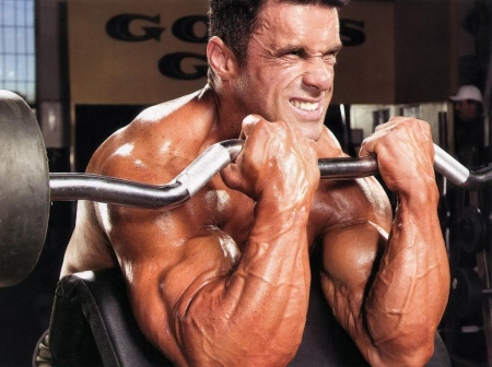 Arm-Muscles-building-With-Dumbbells N33 Nitric Oxide