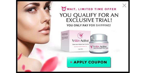 Vskin active Reviews - Take Trial For Younger Look Picture Box