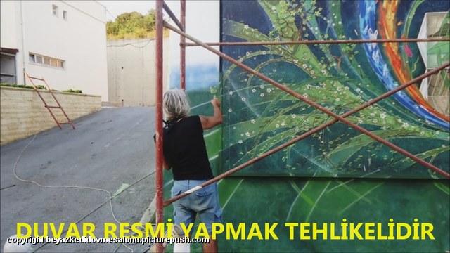 duvar resimleri 3 boyutlu yer resimleri 3d cadde resimleri