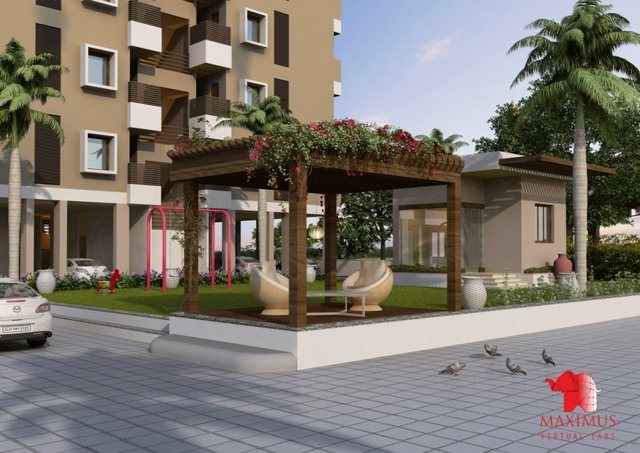 3D Exterior Rendering 3D Architectural Animation