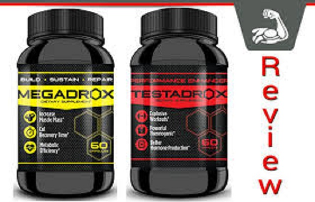 Megadrox And Testadrox-3 Megadrox And Testadrox Booster