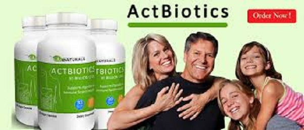 Actbiotics Probiotic-1 Actbiotics Probiotic Supplement