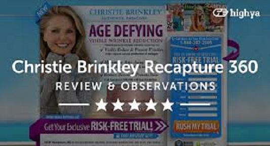 Christie Brinkley Recapture 360-1 Christie Brinkley Recapture 360